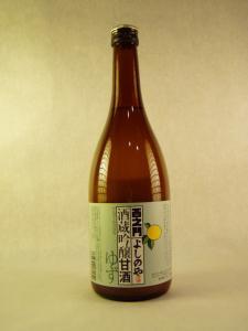 吟醸 甘酒 「ゆず風味」 800g