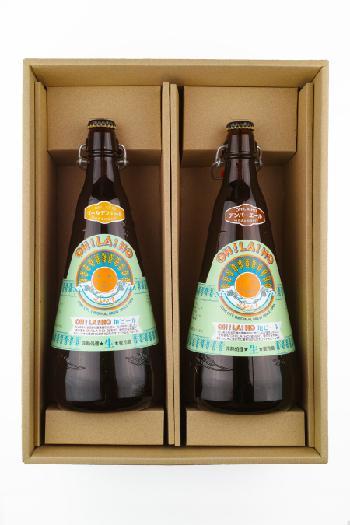 【贈答箱】信州オラホビール 1リットルビン×2本(Cセット)