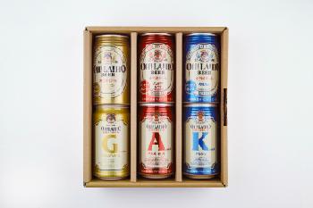 【贈答箱】信州オラホビール 350ml缶×6本 (Eセット)