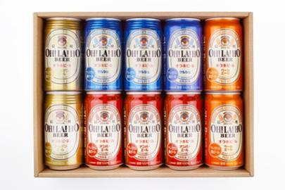 【贈答箱】信州オラホビール 350ml缶×10本 (Dセット)
